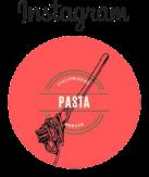 Italienische Nudeln auf Instgram