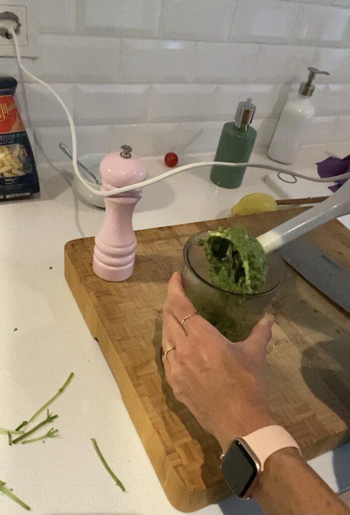 Pesto mixen