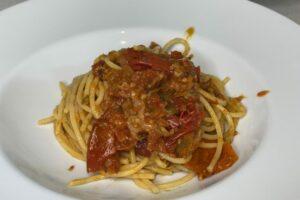 Vermicelli mit aromatischer Tomatensauce